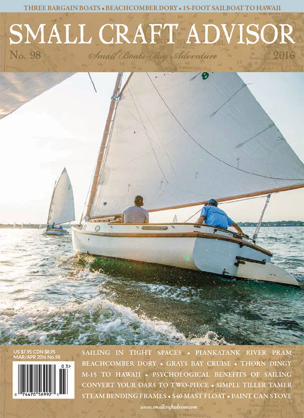 Issue #98 Mar/Apr 2016 Features: Three Bargain Trailersailers (PDF Download)