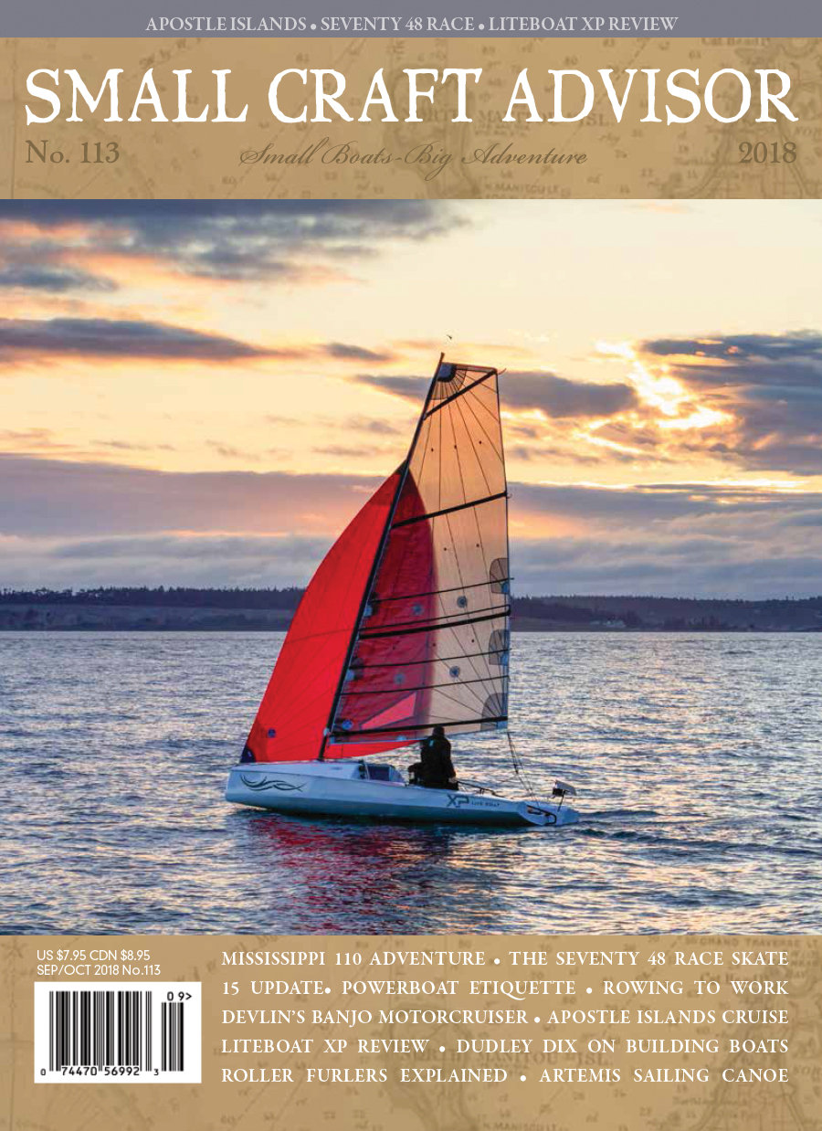 Issue #113 Sep/Oct 2018 Features: LiteBoat XP Review (PDF)