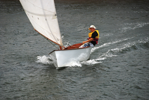 "Goat Island Skiff 15' 6"" Boat Plans designed by Michael Storer"