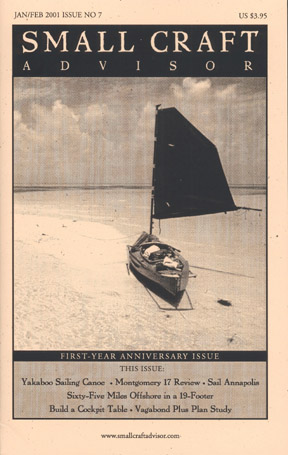Issue #7 Jan/Feb 2001 Features Montgomery 17 Boat Review PDF DOWNLOAD