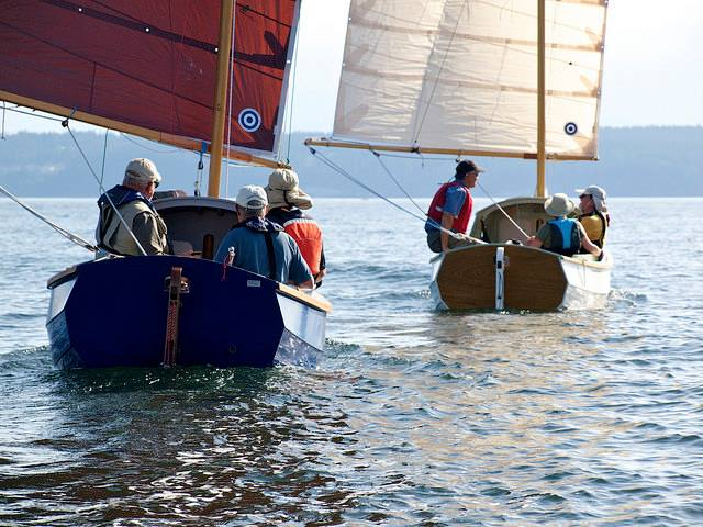 SCAMP Class Sail (100 sq ft lugsail)