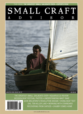 Reprint of Aquarius 23 Boat Review from Issue No. 37