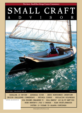 Issue #30 Nov/Dec 2004 Features Catalina (Capri) 18 Review