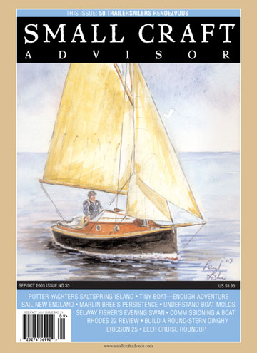 Issue #35 Sep/Oct 2005 Features Rhodes 22 Review PDF DOWNLOAD
