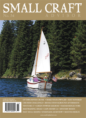 Issue #54 Nov/Dec 2008 Featuring Ensenada 20 Boat Review