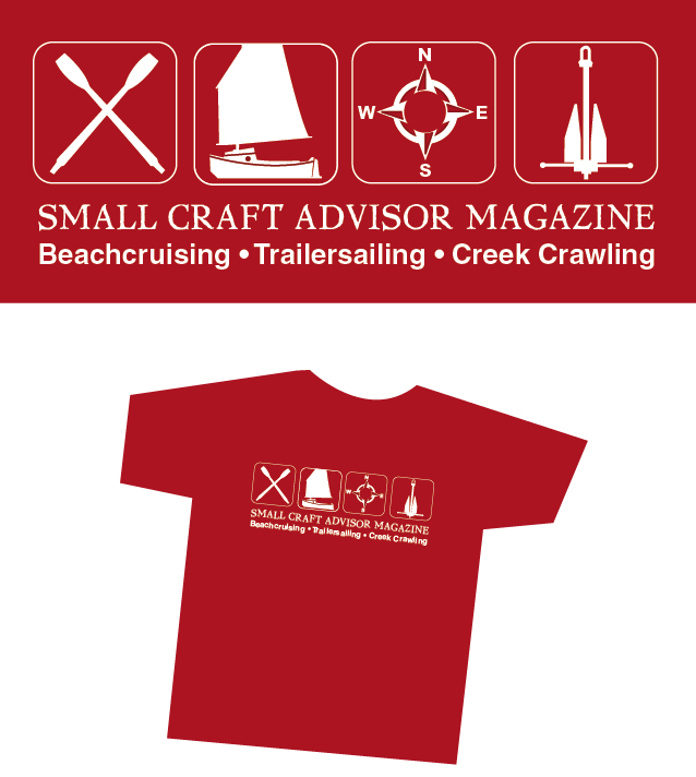 Small Craft EXPLORE Logo T-shirt
