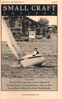 Reprint of Precision 21 Boat Review from Issue No. 11