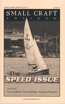 Reprint of Venture 21 Boat Review from Issue #2 Mar/Apr 2000