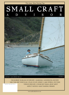 Issue #23 Sep/Oct 2003 Features Marshall Sanderling Review PDF DOWNLOAD