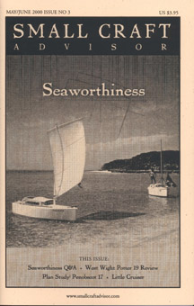 Reprint West Wight Potter 19 Boat Review from Issue No. 3