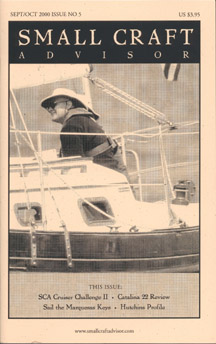 Reprint of Catalina 22 Boat Review from Issue No. 5