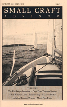 Issue #8 Mar/Apr 2001 features Cape Dory 19 Boat Review PDF DOWNLOAD