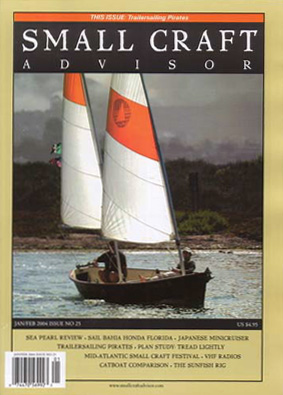 Issue #25 Jan/Feb 2004 Features Sea Pearl 21 Review