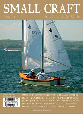 Reprint Jeanneau Tonic 23 Boat Review from Issue No. 47