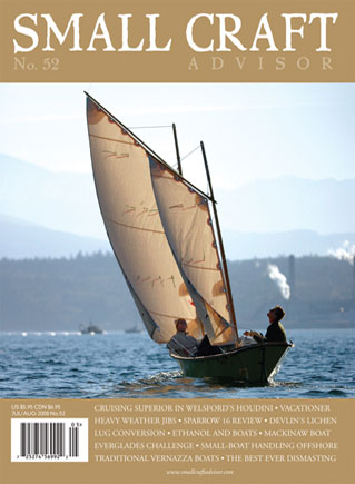 Jul/Aug 2008 Issue #52 Featuring: Sparrow 16 Boat Review PDF DOWNLOAD