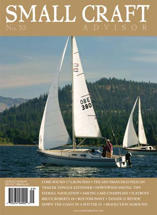 Issue #53 Sep/Oct 2008 Features: Tanzer 22 Boat Review