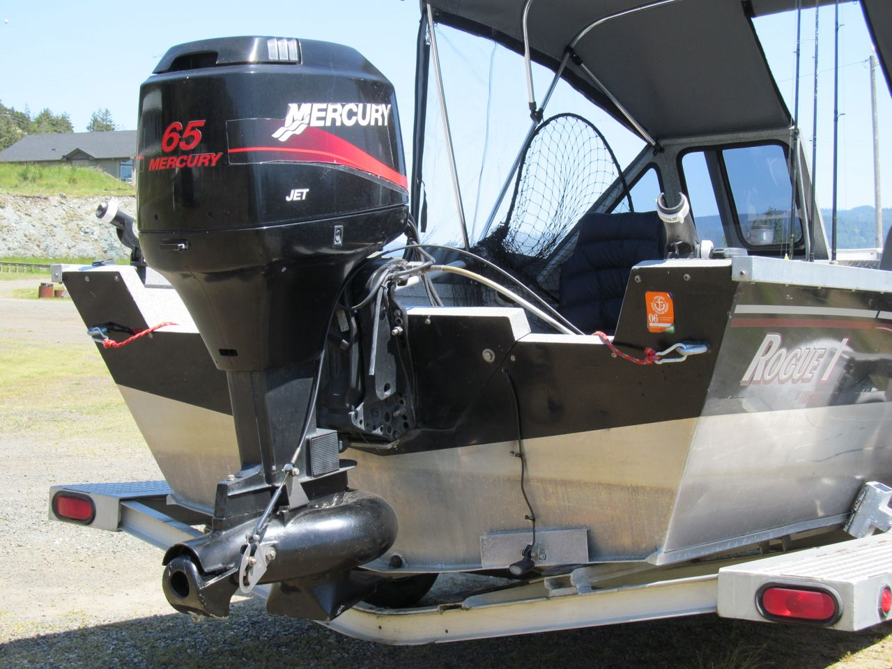 Outboard jet small craft advisor blog for Jon boat with jet motor